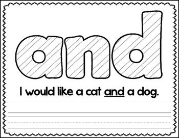 Fry Words ~ Color, Read & Write Set 1