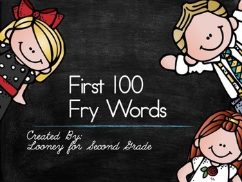 Fry Words First 100 Power Point
