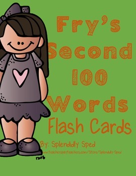 Fry's Second Hundred Words Flaschards