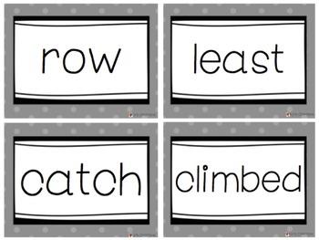 Fry Words Flash Cards BUNDLE! - Levels 1-10