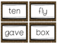 Fry Words Flash Cards Level 5