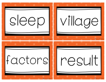 Fry Words Flash Cards Level 7