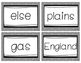 Fry Words Flash Cards Level 8