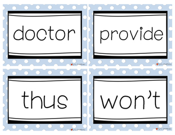 Fry Words Flash Cards Level 9