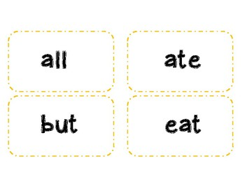 Fry Words Flash Cards Pre-Primer - 200