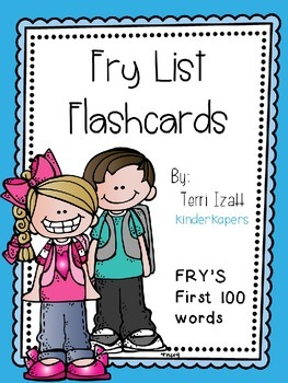 Fry Words Flashcards
