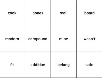 Fry Words Flashcards Ninth 100 Words