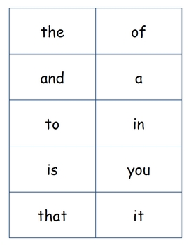 Fry Words Flash Cards - Laptuoso