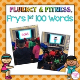 Fry's 1st 100 Sight Words Fluency & Fitness Brain Breaks