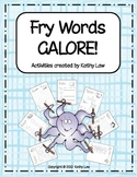 Fry Words GALORE!