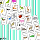 Fry Words - Go Fish, Memory Match, or Flash Cards with Hand Drawn Animals