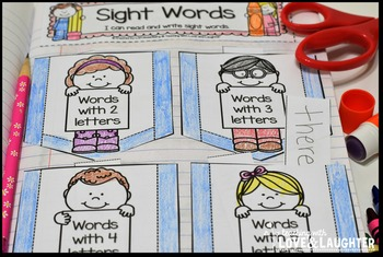 Fry Words Editable Interactive Notebook Activities {The Second Hundred Words}