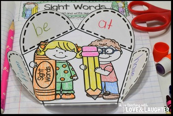 Fry Words Editable Interactive Notebook Activities {The Third Hundred Words}