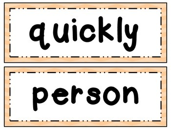 Fry Word Wall Set 5 Words & Phrases 401-500