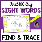 First 100 Fry Sight Word Activities: Rainbow Trace and Fin