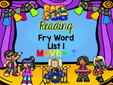 Fry Words Rock Star Reading MOVE IT! First 100