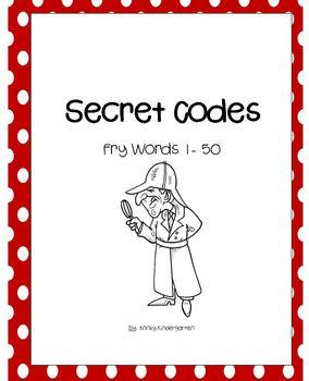 Fry Words    Secret Codes 1 - 50