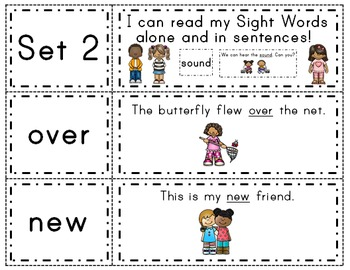 Fry Words & Sentences Set 2