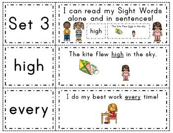 Fry Words & Sentences Set 3