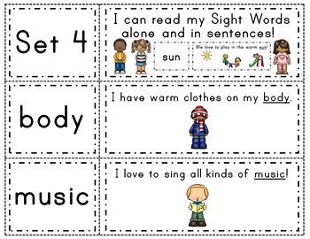 Fry Words & Sentences Set 4