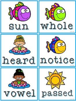 Fry Words Summer Fun 4th 100 Words