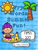 Fry Words Summer Fun 5th 100 Words
