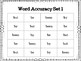 Fry Words That Look Similar 1: Reading Accuracy Practice
