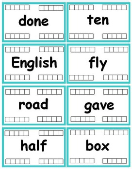 Fry Words - The Fifth Hundred (401-500) Flash cards with Data Tracking - RF.K.3