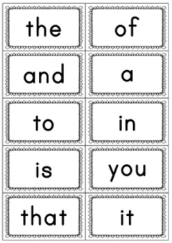 Fry Words - The First Hundred   Bundle