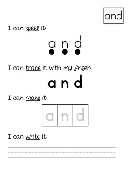 Fry Sight Word Activities {The First Hundred}