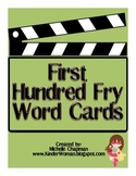 Fry Words - The First Hundred Word Cards