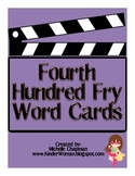 Fry Words - The Fourth Hundred Word Cards