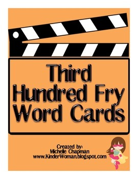 Fry Words - The Third Hundred Word Cards