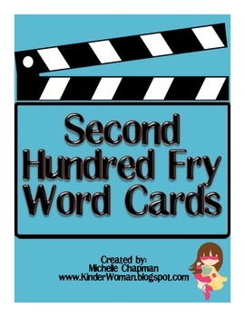Fry Words - The Second Hundred Word Cards