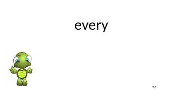 Fry Words: Third 100 Full list slides