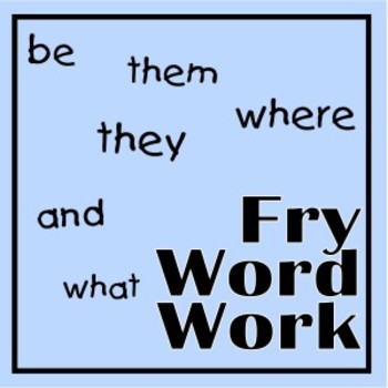 Fry Words Top Sight Words Flash Card Application