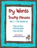 Fry Words Tracing Phrases Set 2 - The Second 100