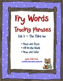 Fry Words Tracing Phrases Set 3 - The Third 100