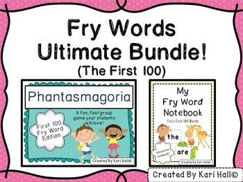 Fry Words Ultimate Bundle {First 100 Words}