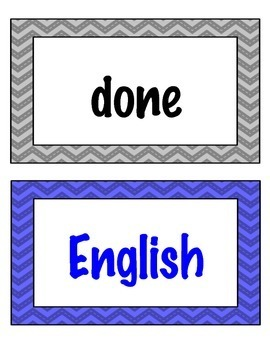 Fry (Two-for-One) Flashcards and Word Wall Cards Jumbo Bundle - 1,000 Words