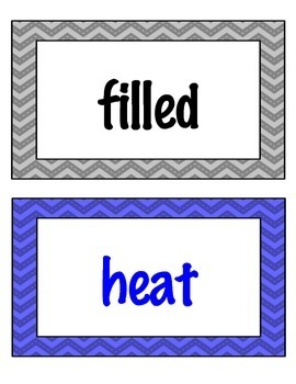 Fry (Two-for-One) Flashcards and Word Wall Cards Jumbo Bundle - 500 Words