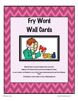 Fry (Two-for-One) Flashcards and Word Wall Cards - Second Hundred