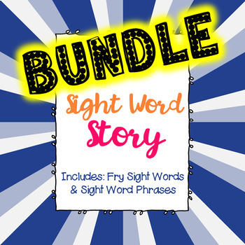 Fry Words - Writing Activity BUNDLE