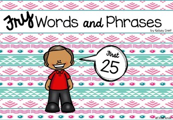 Fry Words and Phrases: The First 25 Booklet
