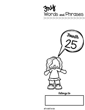 Fry Words and Phrases: The Fourth 25 Booklet