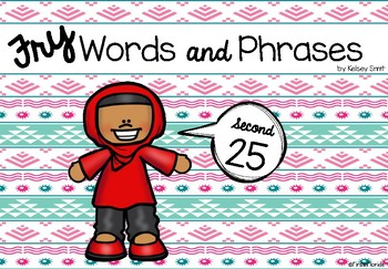 Fry Words and Phrases: The Second 25 Booklet