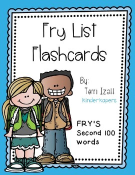 Fry Words (second 100) Flashcards