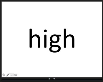 Fry Words to Build Fluency Third 100 Flashcard PowerPoint (201-300)