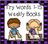 Fry Words weekly books