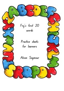 Fry first hundred words literacy centre activity